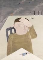 坠落 - 向庆华 - 油画 - 2010年秋季拍卖会 -收藏网