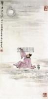 举杯邀明月 立轴 纸本 - 亚明 - 中国书画 - 2010秋季艺术品拍卖会 -中国收藏网