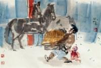 人物 立轴 设色纸本 - 傅小石 - 中国书画专场 - 2010年秋季艺术品拍卖会 -收藏网