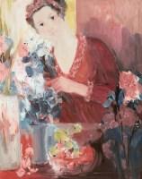 谢中霞 人物 布面油画 - 21091 - (西画)当代艺术专题 - 2006年秋季精品拍卖会 -收藏网