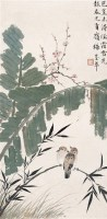 岭梅报春 立轴 设色纸本 -  - 名家书画·油画专场 - 2006夏季书画艺术品拍卖会 -收藏网