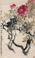 花卉 立轴 纸本 - 陈子庄 - 文物公司旧藏暨海外回流 - 2010秋季艺术品拍卖会 -收藏网