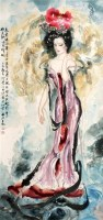 薛林兴 仕女 立轴 - 薛林兴 - 中国书画、油画 - 2006艺术精品拍卖会 -中国收藏网