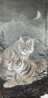 晓风 镜心 设色纸本 - 冯大中 - 中国书画(一) - 2010年秋季艺术品拍卖会 -中国收藏网