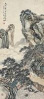 郭蘭枝(1887~1935)松溪論道圖 -  - 中国书画近现代名家作品专场 - 2008年秋季艺术品拍卖会 -收藏网