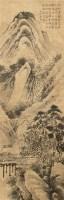 石涛 山水 立轴 设色纸本 - 65310 - 古代书画专场 - 2006年秋季精品拍卖会 -收藏网