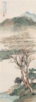 春溪牧钓 立轴 设色纸本 - 吴镜汀 - 中国书画 - 第9期中国艺术品拍卖会 -中国收藏网