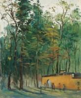 嘉兴南湖写生 - 关紫兰 - 油画 - 2010年秋季拍卖会 -收藏网