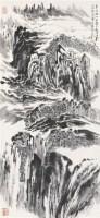山水 镜心 水墨纸本 - 116006 - 中国书画夜场 - 2010秋季艺术品拍卖会 -收藏网