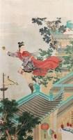 红线盗盒 立轴 纸本 - 任率英 - 文物公司旧藏暨海外回流 - 2010秋季艺术品拍卖会 -收藏网