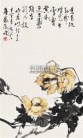 花鸟 立轴 设色纸本 - 于希宁 - 中国书画 - 第9期中国艺术品拍卖会 -中国收藏网