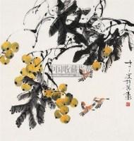 花卉 镜片 纸本 - 许麟庐 - 中国书画(下) - 2010瑞秋艺术品拍卖会 -收藏网