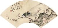 花鸟 扇面 纸本 - 张熊 - 扇面小品 - 2010秋季艺术品拍卖会 -收藏网