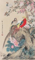 花鸟 立轴 纸本 - 喻继高 - 中国书画(下) - 2010瑞秋艺术品拍卖会 -中国收藏网