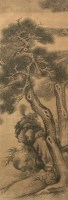 项圣谟 松树 立轴 设色绢本 - 118985 - 古代书画专场 - 2006年秋季精品拍卖会 -收藏网
