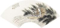 人物 扇面 纸本 - 16894 - 扇面小品 - 2010秋季艺术品拍卖会 -收藏网