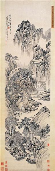 溪山谈诗图 - 6128 - 中国书画古代作品 - 2006春季大型艺术品拍卖会 -收藏网