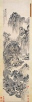 溪山谈诗图 - 何维朴 - 中国书画古代作品 - 2006春季大型艺术品拍卖会 -收藏网