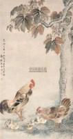 大吉图 立轴 纸本设色 - 沈铨 - 中国古代书画  - 2010秋季艺术品拍卖会 -收藏网