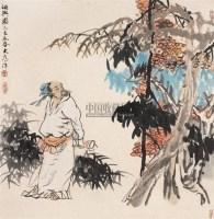 秋兴图 镜心 设色纸本 - 刘大为 - 中国书画(二) - 2006春季拍卖会 -中国收藏网