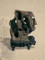 清灵坠石 -  - 文房清玩 首届历代供石专场 - 2008年秋季艺术品拍卖会 -中国收藏网