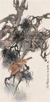 柳滨 辛巳(1941年)作 封侯图 轴 设色纸本 - 柳滨 - 中国近现代书画 - 2006艺术品拍卖会 -收藏网