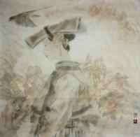 工笔人物 - 123692 - 2010上海宏大秋季中国书画拍卖会 - 2010上海宏大秋季中国书画拍卖会 -收藏网