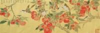 事事大吉 纸本 镜框 - 张铨 - 中国书画(二)无底价专场 - 天目迎春 -中国收藏网