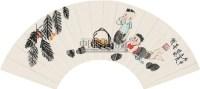 人物 立轴 纸本 - 124317 - 中国书画(上) - 2010瑞秋艺术品拍卖会 -收藏网