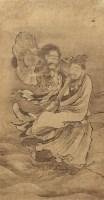 吴小仙 人物 立轴 设色纸本 -  - 古代书画专场 - 2006年秋季精品拍卖会 -收藏网