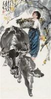 丰收图 立轴 设色纸本 - 张广 - 中国书画四·当代书画 - 2010秋季艺术品拍卖会 -收藏网