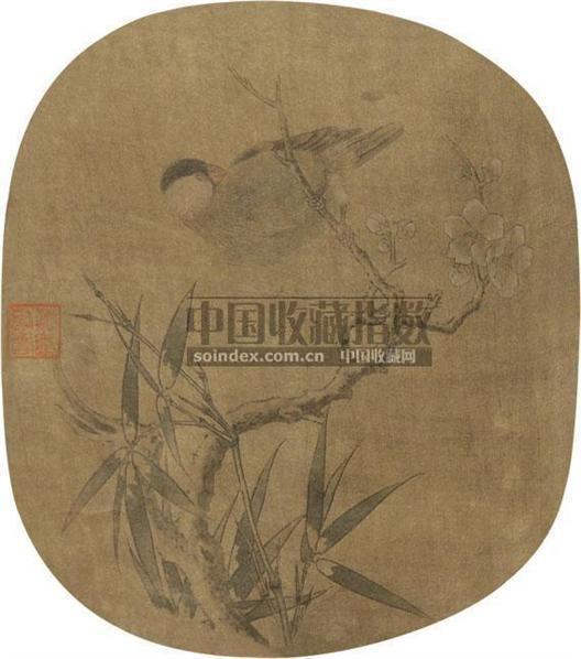 山水 扇面 纸本 - 18322 - 中国书画 - 2010秋季艺术品拍卖会 -收藏网