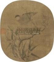 山水 扇面 纸本 - 溥伒 - 中国书画 - 2010秋季艺术品拍卖会 -中国收藏网