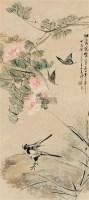 江蓉晓艳图 立轴 设色纸本 - 沙馥 - 中国书画一 - 2010年秋季艺术品拍卖会 -中国收藏网