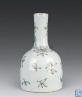 粉彩花卉纹摇铃尊 -  - 古董珍玩 - 2010秋季艺术品拍卖会 -收藏网