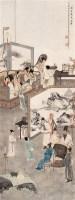 刘凌沧 丙子(1936年)作 韩熙载夜宴图 片连框 设色纸本 - 刘凌沧 - 中国近现代书画 - 2006艺术品拍卖会 -收藏网