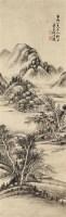 山水 立轴 纸本 - 何维朴 - 中国书画 - 2010秋季艺术品拍卖会 -收藏网