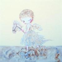 何 伟  快乐的漩涡 -  - 名家西画 当代艺术专场 - 2008年秋季艺术品拍卖会 -中国收藏网