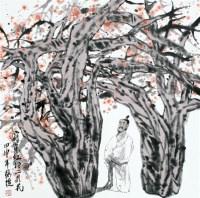 蔡超 高仕图 立轴 - 蔡超 - 中国书画、油画 - 2006艺术精品拍卖会 -收藏网