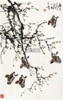 花鸟 立轴 纸本 - 孙其峰 - 中国书画 - 2010秋季艺术品拍卖会 -收藏网