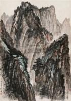 华山之晨 立轴 设色纸本 - 赵望云 - 中国书画(二) - 2010年秋季艺术品拍卖会 -收藏网