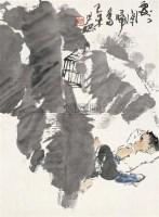 处处闻啼鸟 镜片 设色纸本 - 周思聪 - 中国书画 - 2010秋季艺术品拍卖会 -收藏网