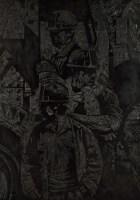 《挖掘机组》原版 - 150675 - 油画 - 2010年秋季拍卖会 -收藏网
