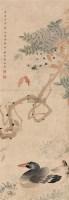 花鸟 立轴 设色纸本 - 5058 - 中国书画(二) - 2006春季拍卖会 -收藏网