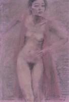 何多苓 2006年作 舞动的女人 - 何多苓 - 当代艺术·卓克收藏专场 - 2006夏季大型艺术品拍卖会 -收藏网