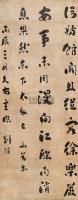 书法 立轴 水墨绢本 - 刘墉 - 国画 陶瓷 玉器 - 2010秋季艺术品拍卖会 -收藏网