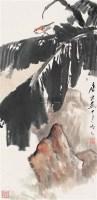 芭蕉鸣雀图 镜片 设色纸本 - 117343 - 中国书画一 - 2010年秋季艺术品拍卖会 -收藏网