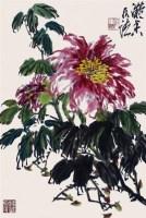 花卉 - 何水法 - 2010上海宏大秋季中国书画拍卖会 - 2010上海宏大秋季中国书画拍卖会 -收藏网