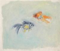 蔡枫 鱼 布面油画 - 129762 - (西画)当代艺术专题 - 2006年秋季精品拍卖会 -收藏网