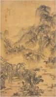 顧昉[清]蒼山深秀圖 -  - 中国书画古代作品专场(清代) - 2008年春季拍卖会 -中国收藏网